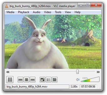 Screenshot #1 of VLC Media Player / Mac OS