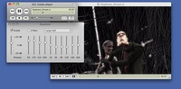 Mac OS X 10.5.4 - Equalizer, folded controller  and Dirac encoded video