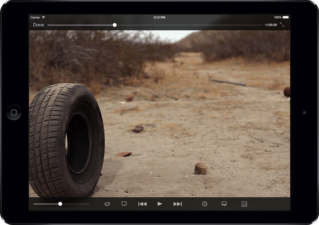VLC for iOS screenshot