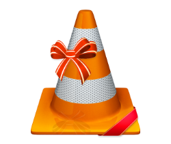 Cone with ribbon