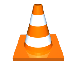Cone with angular base with pointed nooks