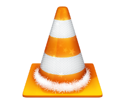 Cone with garland around the base