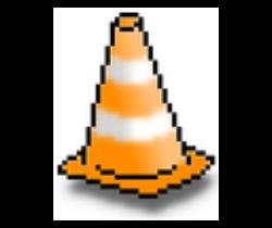 Primera versión del Logo de VLC