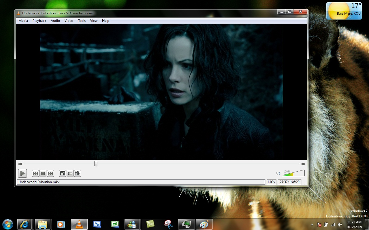 VLC media player - Windows 7 - Qt Interface