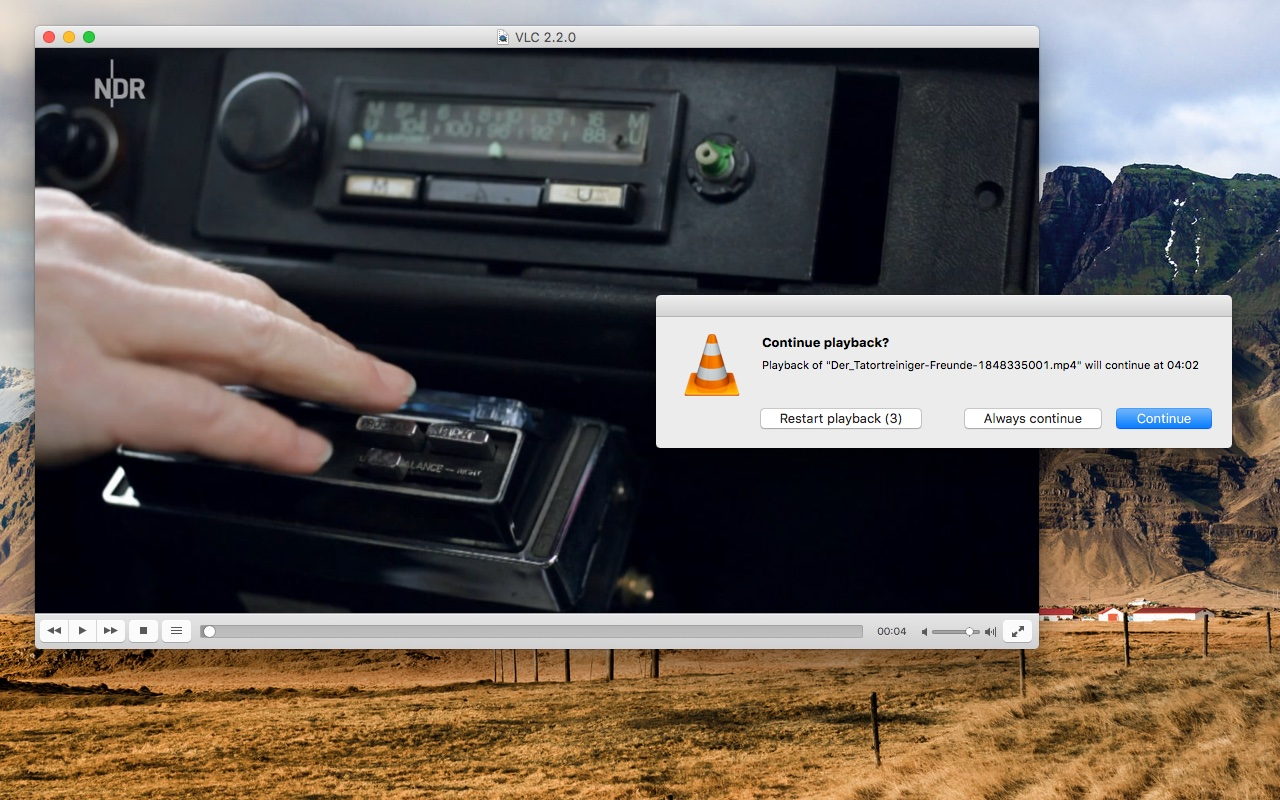 vlc media player pour mac 10.4.11