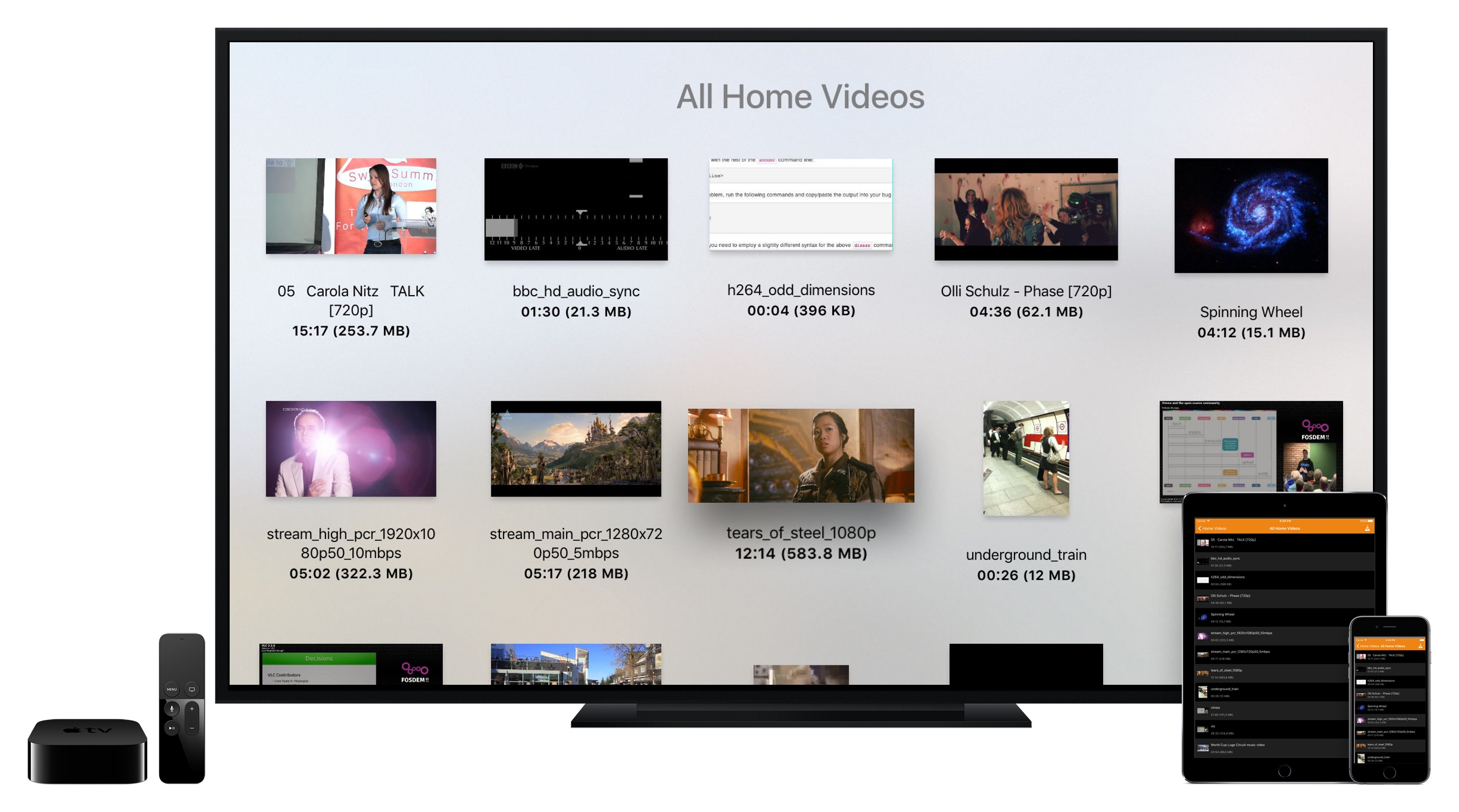 Videolan Press Release Announcing Vlc For Apple Tv