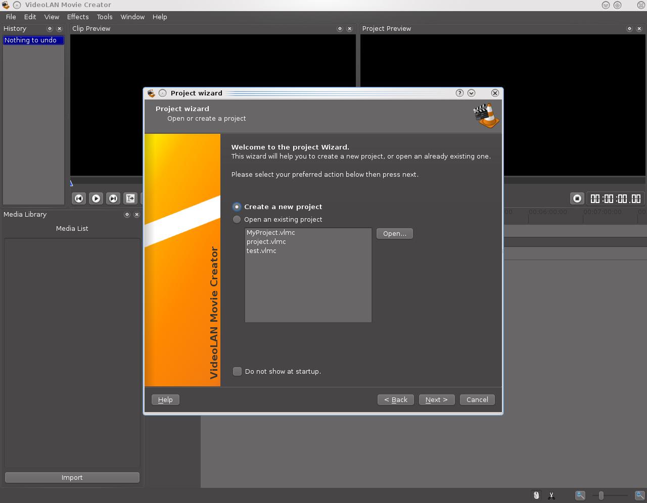 VLMC, open source video editor - VideoLAN
